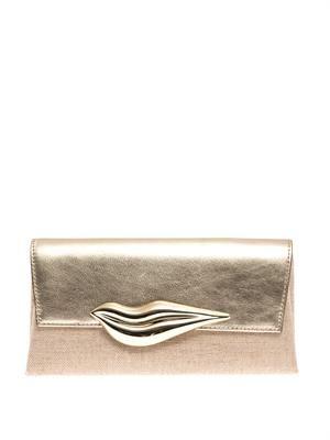 Flirty envelope clutch