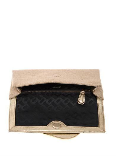 Diane Von Furstenberg Flirty envelope clutch