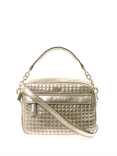 Diane Von Furstenberg Milo mini quilted shoulder bag