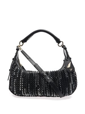 Sutra knit hobo bag