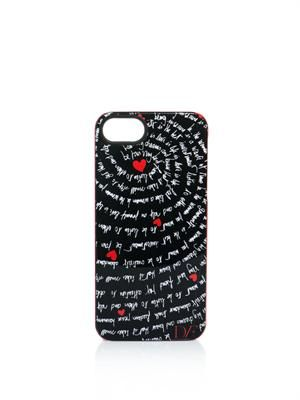 Heart mantras-print iPhone®5 case