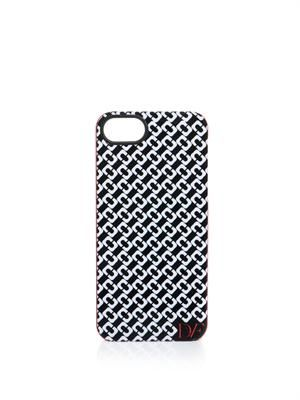 Chain-link print  iPhone5® case