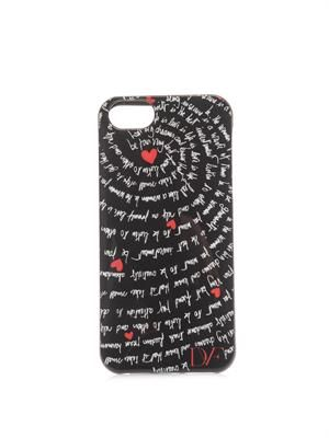 Heart Mantras-print iPhone® 5 case