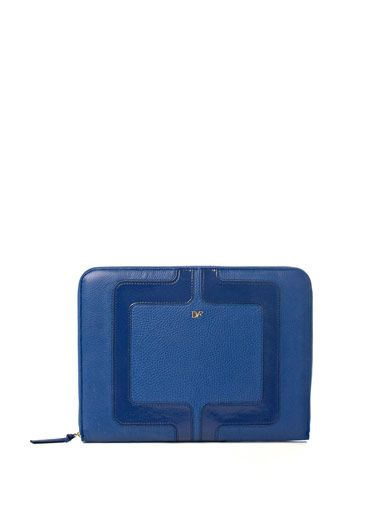 Diane Von Furstenberg Chain link laptop case