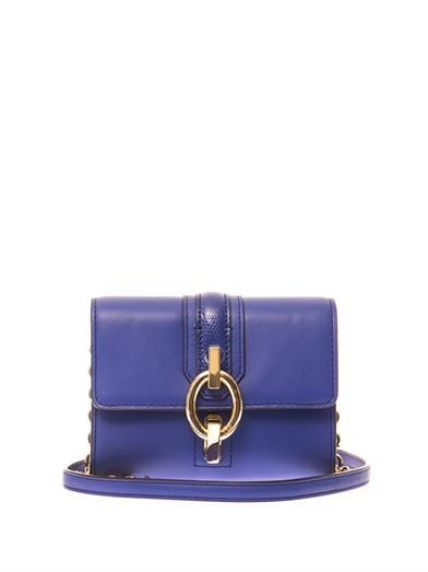 Diane Von Furstenberg Sutra mini leather shoulder bag
