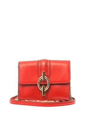 Sutra mini leather shoulder bag
