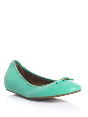 Bion leather flats