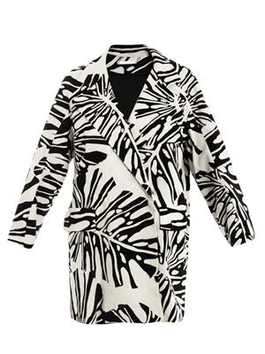 Laurel printed coat