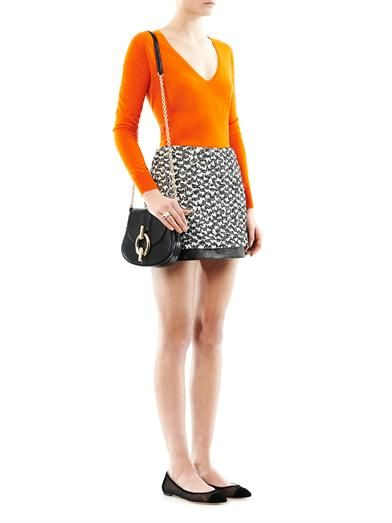 Diane Von Furstenberg Elley mini skirt