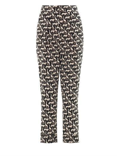 Diane Von Furstenberg Atlas trousers