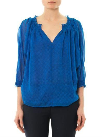 Diane Von Furstenberg Bryn blouse