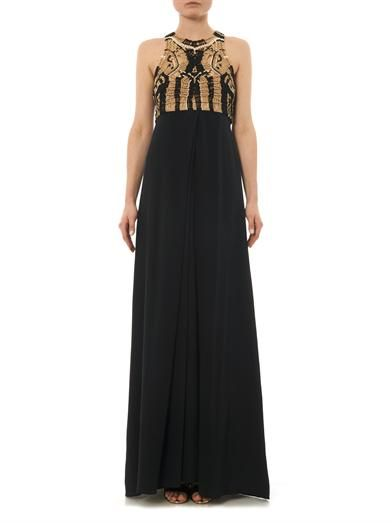 Diane Von Furstenberg Darina gown