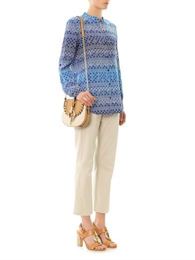 Diane Von Furstenberg Gilmore shirt