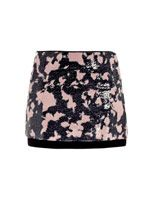 Elley printed sequin mini skirt