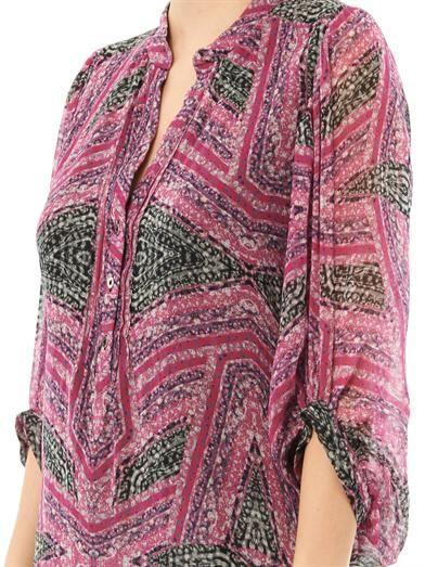 Diane Von Furstenberg Syrah blouse