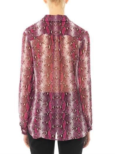 Diane Von Furstenberg Lorelei silk blouse
