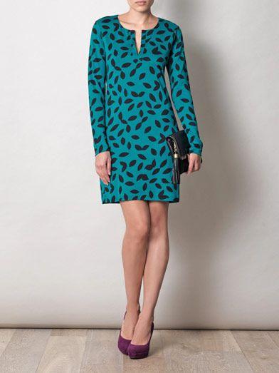 Diane Von Furstenberg Reina tunic dress