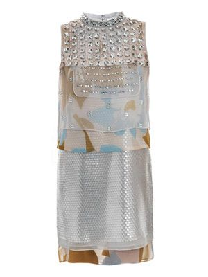Xandria embellished dress