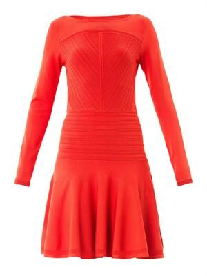 Delta stretch-knit dress