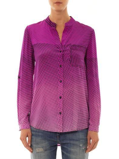 Diane Von Furstenberg Gilmore blouse