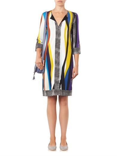 Diane Von Furstenberg Rose Long dress