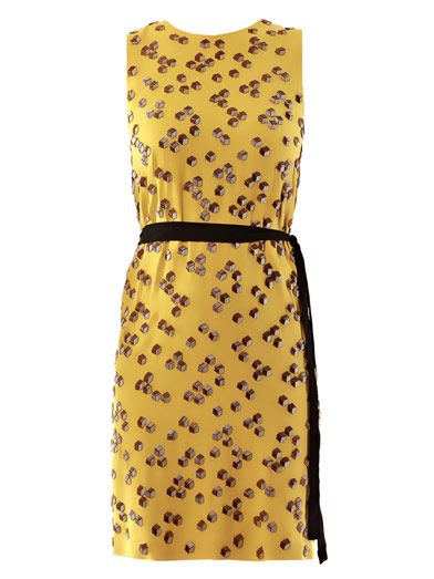 Diane Von Furstenberg Yvan embellished dress
