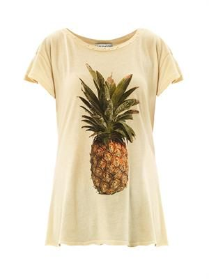 Pineapple-print T-shirt
