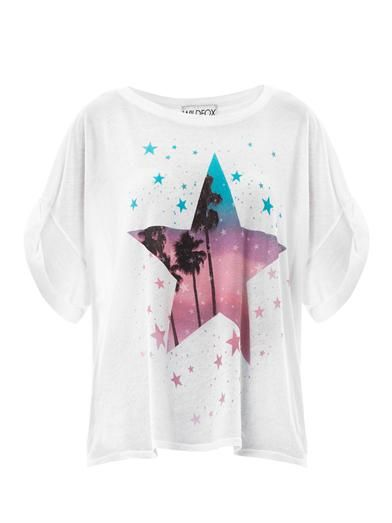 Wildfox Guide to the Universe oversized T-shirt