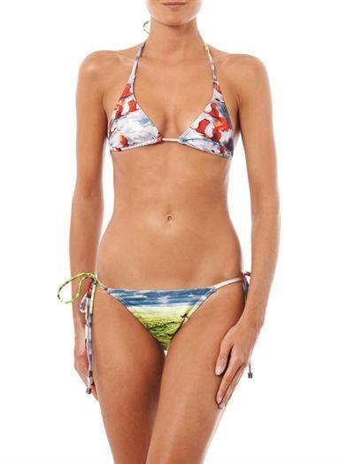 We Are Handsome Migration print bikini
