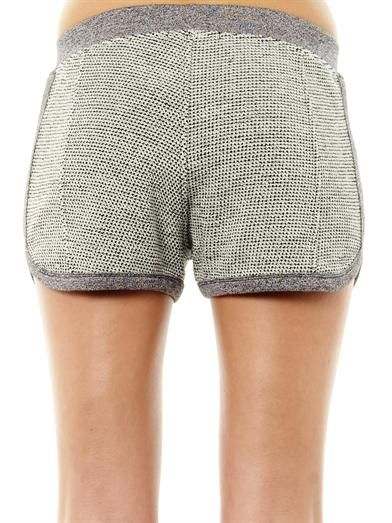 T by Alexander Wang French terry-cotton shorts