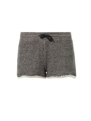 French terry-cotton shorts