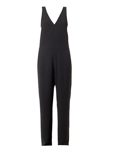T by Alexander Wang V-neck crepe jumpsuit