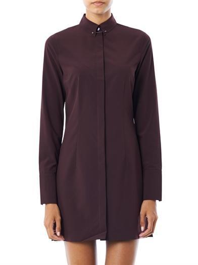 T by Alexander Wang Collar bar detail shirt dress
