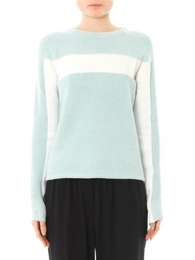 T by Alexander Wang Bi-colour sweater