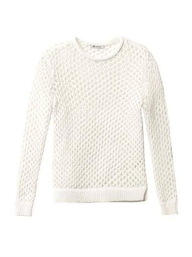 T by Alexander Wang Open-knit sweater