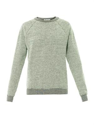 French terry-cotton sweatshirt