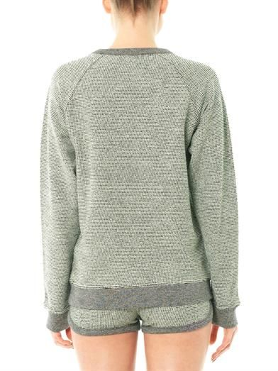 T by Alexander Wang French terry-cotton sweatshirt