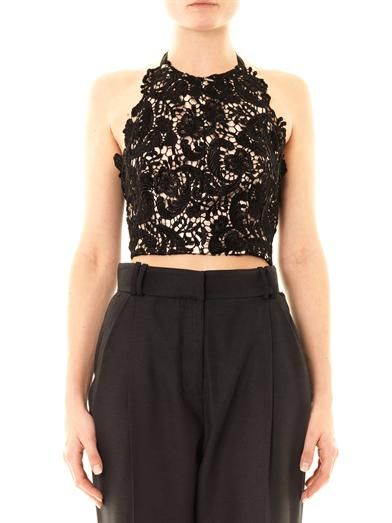 Lover Courtney lace halterneck top