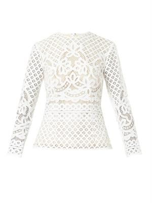 Libra lace blouse