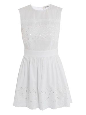 Broderie anglaise skating dress