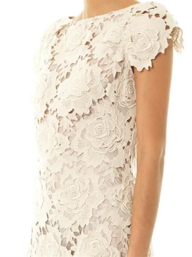 Lover 3D Star lace dress
