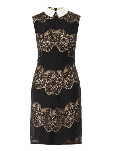 Lover Chelsea lace-detail sleeveless dress