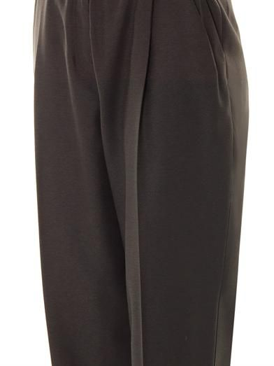 Lover High-rise tailored trousers