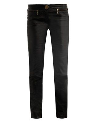 Bowie skinny leather-trousers