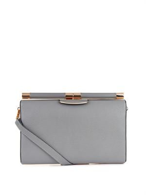 TYLER ALEXANDRA Jamie leather clutch