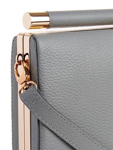 Tyler Alexandra Jamie leather clutch