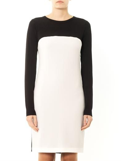Dkny Colour-block shift dress