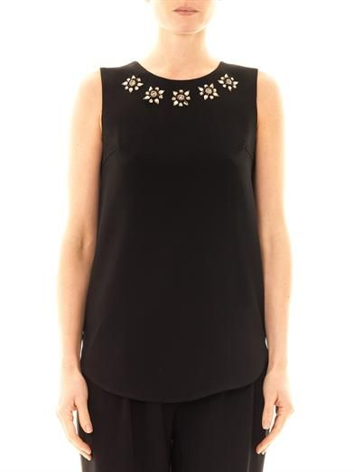 Dkny Embellished blouse