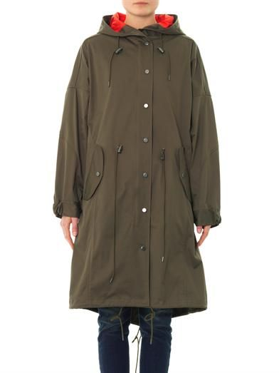 Dkny Cotton-blend canvas parka