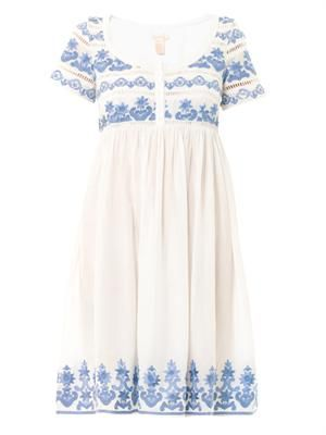 Bora Bora embroidered dress